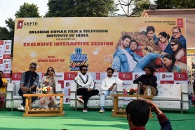 Exclusive Interaction Session with Star cast of Feature Film